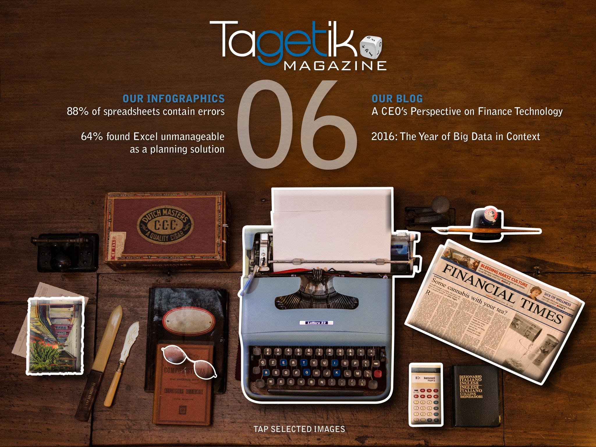 Tagetik Magazine n° 6