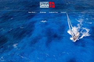 Nuovo sito web per Nautor's Swan