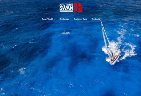 Nautor's Swan new website